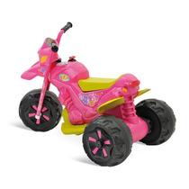 Moto Para Criança Eletrica Fashion Rosa Novo