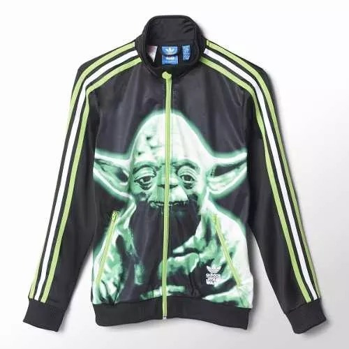 Jaqueta adidas Star Wars Yoda Firebird Junior 1magnus b7b5be1e2d325