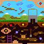 Papel De Parede Adesivo Video Game Retro 9m