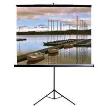 Tela Telão Com Tripe P/projetor 150x150 Cm Griffeht