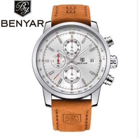 Relógio Benyar Masculino Com Cronógrafo Funcional 7f4b37017c