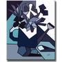 Quadro Decorativo Painel Gravura Tela Cubismo Regador 70x50