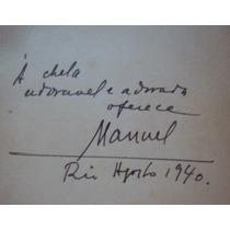 Poesias Completas - Manuel Bandeira - Autografado