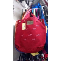 Bolsa Feminina Hollister Modelo Sacola Vermelha Original