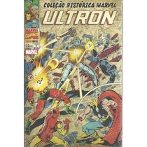 Colecao Historica Marvel Os Vingadores 04 Ultron - Bonellihq