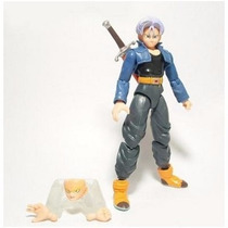Boneco Articulado Dragon Ball Dbz - Trunks - Pronta Entrega