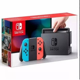 Nintendo Switch 32gb Colorido Neon Original Caixa Lacrado