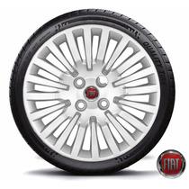 Jogo Calota Aro 15 Fiat Novo Palio 2013 Punto 2012 Novo Uno