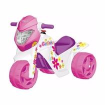 Moto Ban Elétrica Infantil Gatinha Bandeirante - Ref.:2581