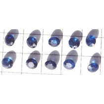 Dal Corsi Safira Azul 3mm 1 Pedra Só 50,00