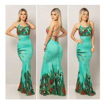 Busca Vestido Longo Azul Royal Costa Nua Com Os Melhores