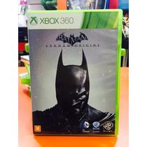 Jogo Batman Arkham Origins Xbox 360, Original Em Portugues