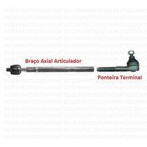 Ponteira Terminal + Braço Aticul. Axial - 206 / 207 1ª Linha