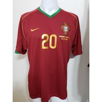 ed4ee35d2 Camisas de Futebol Camisas de Seleções Masculina Portugal com os ...