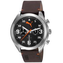 Relógio Masculino Puma, Couro, 50m Atm - 96248g0psnc1