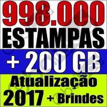 998 Mil Estampas Artes Prontas Sublimação Vetor + 3 Brindes