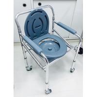 Cadeira Higiênica De Banho Alumínio Dobrável
