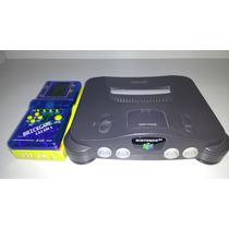 Console Nintendo 64 + Mini Game Tetris !!!!