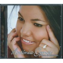 Cd Antonia Gomes - Perfume Da Adoração [bônus Playback]