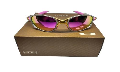 0ce2a77ab Oculos Double Xx 24k Rosa + Teste+certificado+lentes 12x S/j