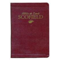 Bíblia De Estudo Scofield - Vinho Frete Gratis