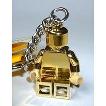 Chaveiro Lego Gold Minifigure 850807