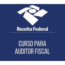 Curso Auditor Receita Federal 2016 - Estratégia
