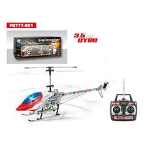 Helicóptero Controle Remoto Fq777-601 3.5ch Gyro