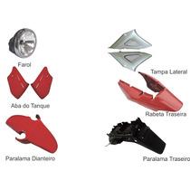 Carenagem Kit Compl C/farol Cbx 250 Twister Vermelho 2008