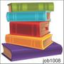 Adesivo Decorativo Parede Leitura Livros Biblioteca Job1008