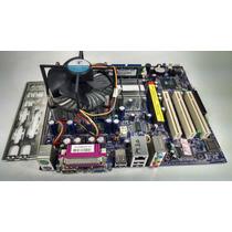 Placa Mãe Foxconn Dg661fx 2.0 + Pentium 4 Ht + 1gb + Cooler