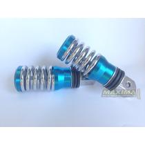 Pedaleira Traseira Azul Esportiva Titan 125 Titan 150