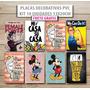 10 Placas Decorativas 13x20 Retro Frases - Frete Grátis