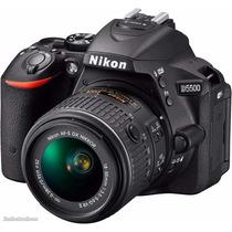 Câmera Nikon D5500 18-55 Fullhd 24.2 12x Sem Juros!!!