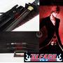 produto Espada Katana Corte Afiada Zangetsu Bleach Aço Negro T-10