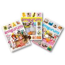 Lote De 3 Revistas - Crochê Amigurumi - Bichinhos Miniaturas