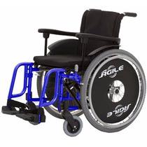 Cadeira De Rodas Dobrável - Modelo Àgile 2009