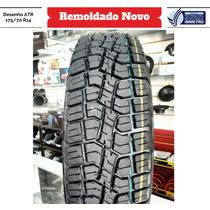 Pneu 175/70 R14 Remoldado Atr Rally Inmetro Strada Uno Way