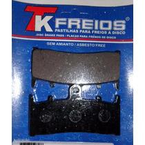 Kit Completo Pastilha De Freio Suzuki Gsx750r Srad Ano 94-99