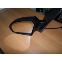 Espelho Retrovisor Externo Ford Fiesta/sedan 03/ Preto Contr
