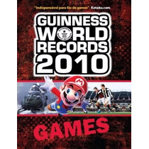 Livro Guinness World Records - Games (colecionador)
