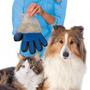 Luva Nano Magnética Tira Pelos Pets Cães Gatos True Touch Dc