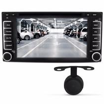 Kit Central Multimidia Tv Dvd Gps Toyota Hilux Srv 06 - 11