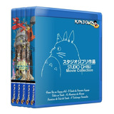 Studio Ghibli Bluray 28 Filmes + Extras Hayao Miyazaki