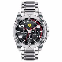 Relógio Ferrari Scuderia 0830035 Chronograph Sf104 Original