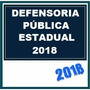 Dpe Defensoria Pública Estadual 2018 Dvd Vídeo + Apostilas