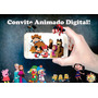 Convite Animado Virtual Video Mp4 (envio Pelo Whatsapp)