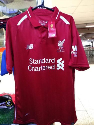 Camisa Liverpool Home 18 19 Nova ( Pronta Entrega ) ba0fc87472f76