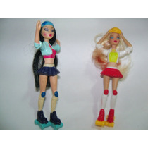 Coleção Barbie Patinadoras Mc Donalds - 2007