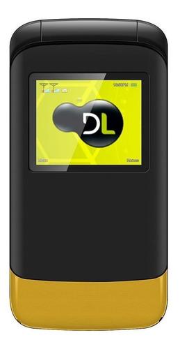 Dl Yc-230 Dual Sim 32 Mb Preto/amarelo 32 Mb Ram